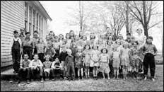 Clark Settlement Students